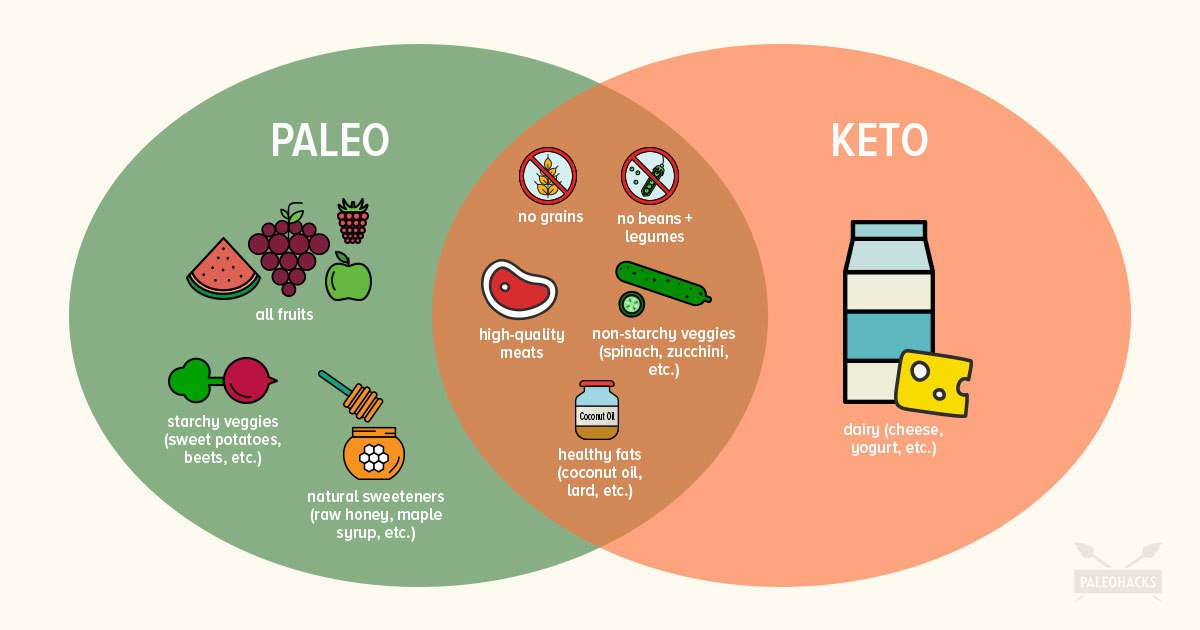 which is the healthier diet paleo or keto